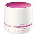 Портативный мини-динамик Leitz Wow розовый металлик, Bluetooth, 63581023