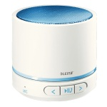 Портативный мини-динамик Leitz Wow синий металлик, Bluetooth, 63581036