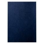Обложки для переплета картонные Leitz черные, А4, 100шт, под кожу, 33666