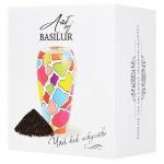 Чай Basilur Art Клубника и киви, черный, листовой, 100г, ваза