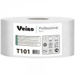 Туалетная бумага Veiro Professional Basic T101, в рулоне, 450м, 1 слой, белая