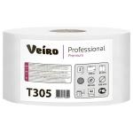 Туалетная бумага Veiro Professional Premium Т305, в рулоне, 170м, 2 слоя, белая