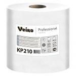 Бумажные полотенца Veiro Professional Comfort КР210, в рулоне с центральной вытяжкой, 200м, 1 слой, белые