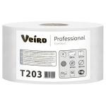 Туалетная бумага Veiro Professional Comfort T203, в рулоне, 200м, 2 слоя, белая