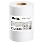 Бумажные полотенца Veiro Professional Comfort KP208, в рулоне с центральной вытяжкой, 100м, 2 слоя, белые