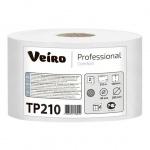 Туалетная бумага Veiro Professional Comfort ТР210, в рулоне с центральной вытяжкой, 215м, 2 слоя, белая