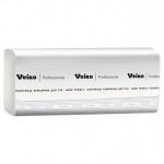 Бумажные полотенца Veiro Professional Comfort KZ202, листовые, 200шт, 2 слоя, белые