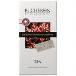 Шоколад Bucheron Swiss Chocolate Village с клюквой/фисташкой/клубникой, горький, 100г