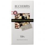 Шоколад Bucheron Swiss Chocolate Village с миндалем/клюквой/фисташкой, горький, 100г