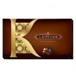 Конфеты Коркунов темный шоколад с лесным орехом, 250г