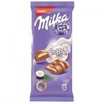 Шоколад Milka Bubbles, Молочный с кокосом, 97г