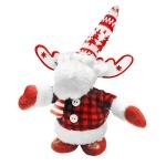 Фигура новогодняя Tarrington House Ходячий олень с музыкой красный, 25.5см, 564706