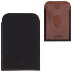 Обложка для проездного Befler Classic коричневая, натуральная кожа