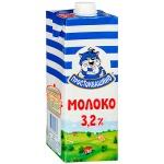Молоко Простоквашино 3.2%, 950г, ультрапастеризованное