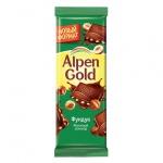 Шоколад Alpen Gold с фундуком, 55г