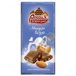 Шоколад Россия миндаль-вафля, 90г