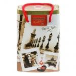 Чай Hilltop Парижские каникулы, черный, листовой, 125г, ж/б-пакет