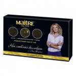 Набор чая Maitre De The Golden Edition, листовой, 225г