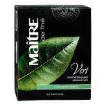 Чай Maitre De The Классический, зеленый, 100 пакетиков
