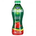 Йогурт питьевой Активиа 2% клубника-земляника, 870г