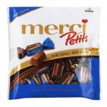 Конфеты Merci молочный шоколад, 125г