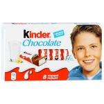 Шоколад Киндер молочный 8 порций, 100г