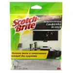 Салфетка хозяйственная Scotch-Brite Hi-tech для оптики и бытовой техники, 30х32см, микроволокно