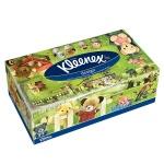 Салфетки косметические Kleenex 150шт, 21х21 см , 2 слоя, белые