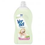 Кондиционер для белья Vernel Sensitive 2л, алоэ вера/ миндальное молочко, суперконцентрат