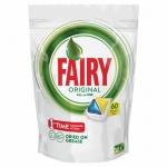 Капсулы для ПММ Fairy All in 1 Original, 60шт, лимон