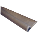 Холст в рулоне Малевичъ негрунтованный, 2.1х3м, 390 г/м2, лен, крупное зерно
