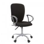 Кресло офисное Chairman Эрго-элегант ткань, крестовина пластик, черный