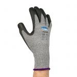 Перчатки от порезов Kimberly-Clark Jackson Safety Purple Nitrile G60 98236, M, сер/черн