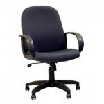 Кресло руководителя Chairman 279-M ткань, серая, JP, крестовина пластик, низкая спинка
