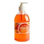 Жидкое мыло наливное Вкусная Косметика 500мл, манго, с глицерином, с дозатором