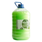 Жидкое мыло наливное Вкусная Косметика 5л, киви, с перламутром
