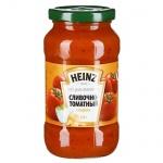 Соус Heinz для спагетти сливочно-томатный с сыром, 450г, стекло