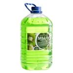 Жидкое мыло наливное Вкусная Косметика 5л, киви, с глицерином