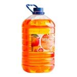 Жидкое мыло наливное Вкусная Косметика 5л, манго, с глицерином