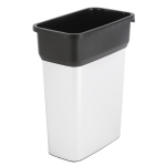 Контейнер для мусора Vileda Pro Гея 55л, средний, металл/черный, 137728