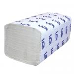 Бумажные полотенца Lime эконом листовые, светло-серые, Z укладка, 180шт, 2 слоя, 240180