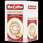 Кофе порционный Maccoffee Cappucino Традиционный, 10шт х 12.5г, растворимый, коробка