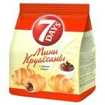 Мини-круассаны 7 Days какао, 200г
