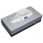 Салфетки косметические Kimberly-Clark Kleenex 100шт, 21.5х18.6см, 2 слоя, белые