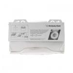 Индивидуальные покрытия на унитаз Kimberly-Clark 6140, 125шт, белые