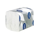 Туалетная бумага Kimberly-Clark Ultra 8408, листовая, 200шт, 2 слоя, белая с тиснением