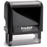 Оснастка для прямоугольной печати Trodat Printy 47х18мм, черная, 4912