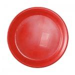 Тарелка одноразовая Мистерия красная, d=17см, 50шт/уп