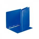 Папка-панорама на 4-х кольцах Esselte синяя, А4, 35 мм, 49757