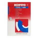 Бумага копировальная Kores А4, синяя, 100 листов